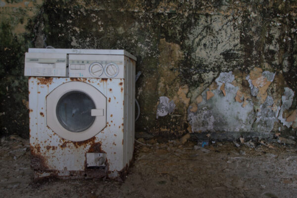 red cross dettaglio lavatrice